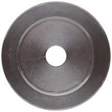 "Martin Plain Bore FHP Sheave, 4L/5L or B Belt Section, 2 Grooves, 1/2"" Bore, Class 30 Gray Cast Iron"