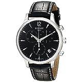 Tissot Men's T063.617.16.057.00 Black Dial Tradition Watch (Color: black)