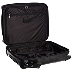 Tegra-Lite International Slim Carry-On 28807: Black Graphite