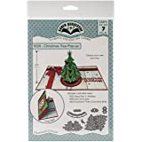 KB Riley 1020 Karen Burniston Dies-Christmas Tree Pop-Up (Color: Gray)