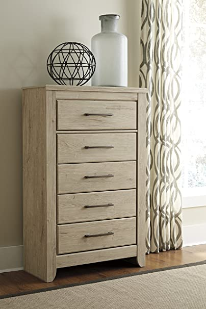 Annilynn Light Brown Five Drawer Chest