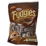 Kraft Caramels, Fudgies Chocolate, 4 Ounce (Pack of 12)