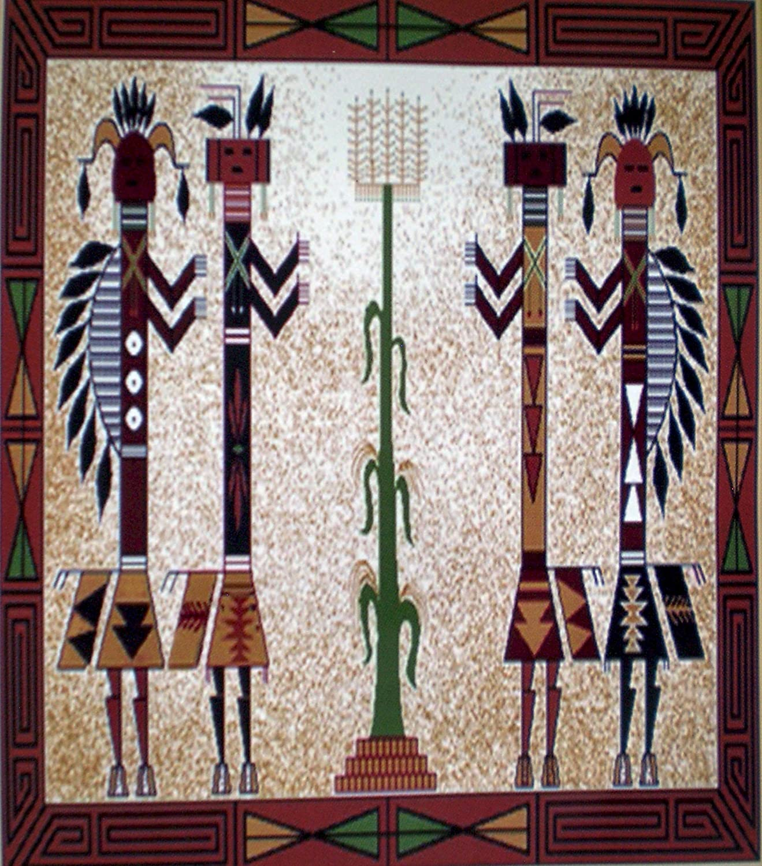Native American Style Kachina
