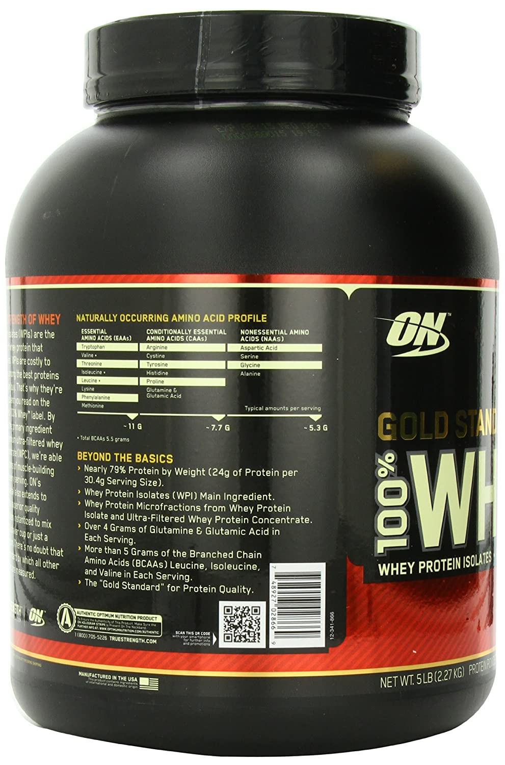 Optimum Nutrition 100% Whey Gold Standard | saharamall