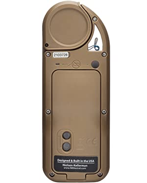 Kestrel 5700 Elite Weather Meter with Applied Ballistics, Tan (Color: Tan, Tamaño: Standard Non-LiNK)