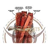 Keto Sugar Free Sampler Pack Grass Fed Beef Sticks & Bars & Healthy Free Range Turkey Sticks Gluten MSG Nitrate & Nitrite Free Paleo Friendly Snacks (Tamaño: 12)