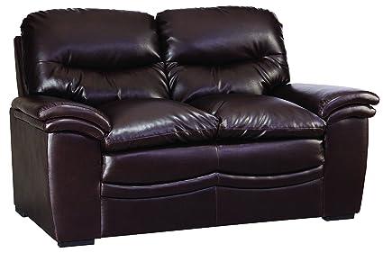 Glory Furniture G185-L Living Room Love Seat, Brown