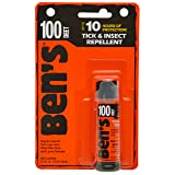 Ben's 100% DEET Mosquito, Tick and Insect Repellent, 0.5 Ounce Pump (Tamaño: .5oz Pump)