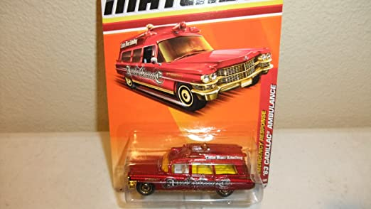 Matchbox Cadillac Ambulance '63 Cadillac Ambulance