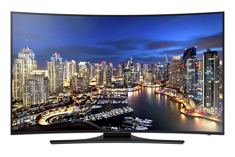 Samsung UN55HU7250 Curved 55-Inch 4K Ultra HD 120Hz Smart LED TV (Big Game Special)