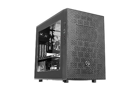 Thermaltake - Core X1 - Micro-Tour Boitier PC avec fenêtre (Mini-ITX) Gris