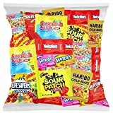 Candy Party Mix Bag Includes Skittles Swedish Fish Nerds Haribo Gummy Sour Patch Twizzlers Life Savers Starburst Sweet Tarts by Variety Fun (40 Ounce) (Tamaño: 40 Ounce)