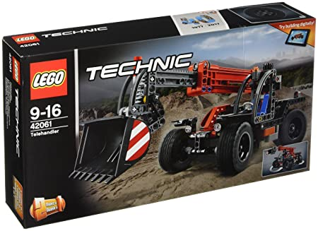 LEGO - 42061 - Technic -  Jeu de construction - Le Manipulateur Télescopique