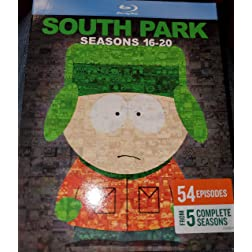 South Park: Seasons 16-20 [Blu-ray]
