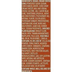 Betty Crocker Baking Mug Treats Cinnamon Roll Cake Mix with Cream Cheese Icing, 11.8 oz(us)