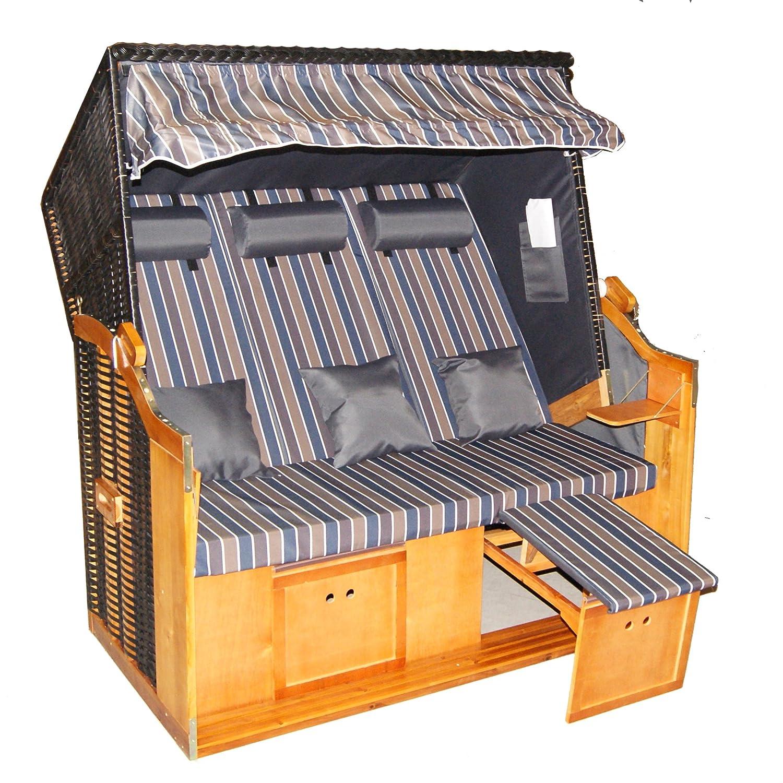 wohnwerk strandkorb ostsee xxl format 155cm breite online kaufen. Black Bedroom Furniture Sets. Home Design Ideas