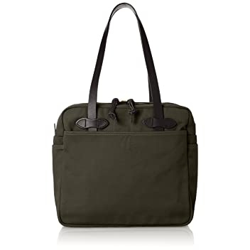 Tote Bag with Zipper 70261: Otter Green