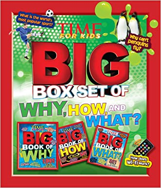 TIME For Kids Big Box Set of Why, How and What? written by Editors of TIME For Kids Magazine