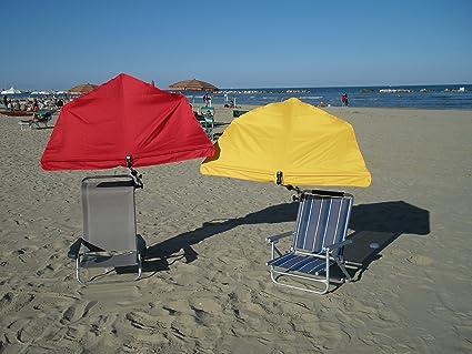 Beach-Playa-Stabielo® Holly® Kit de viaje-San Benedetto del tronto con compartimentos pantalla Holly-Color Naranja De