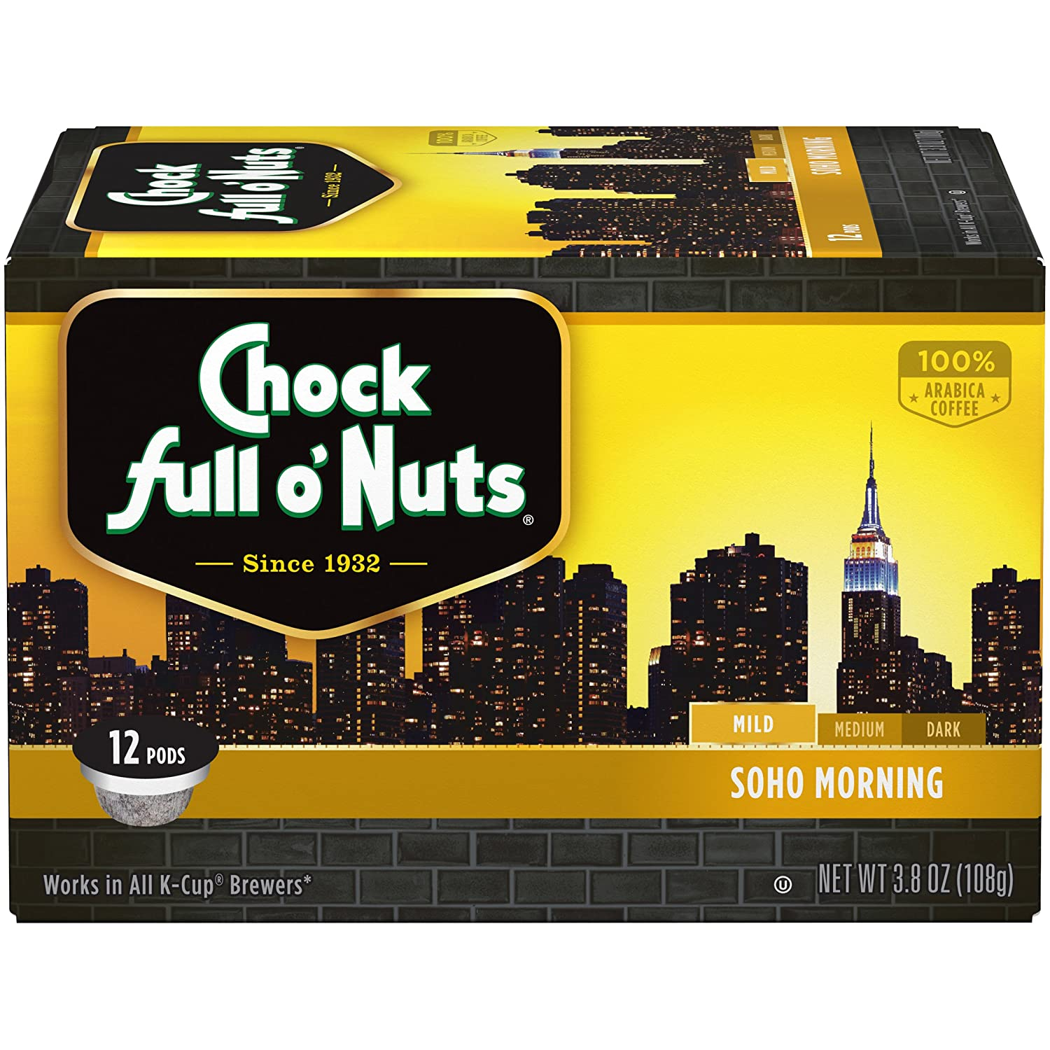 Chock Full o'Nuts Coffee, Soho Morning Mild Roast