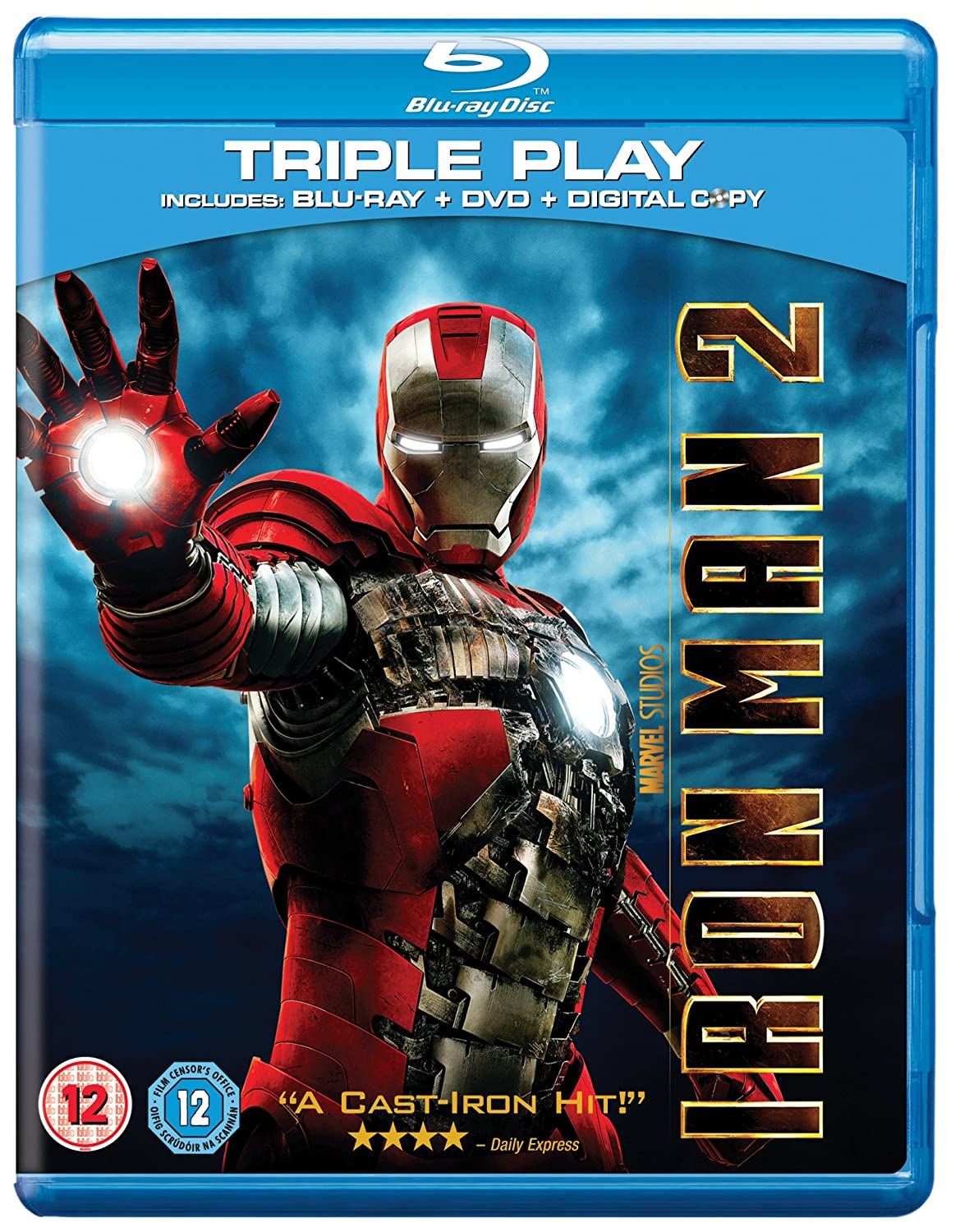 Iron Man 2 Blu-ray