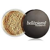 Bella Pierre Mineral Foundation, Cinnamon, 0.3-Ounce (Color: Cinnamon, Tamaño: .3 oz.)