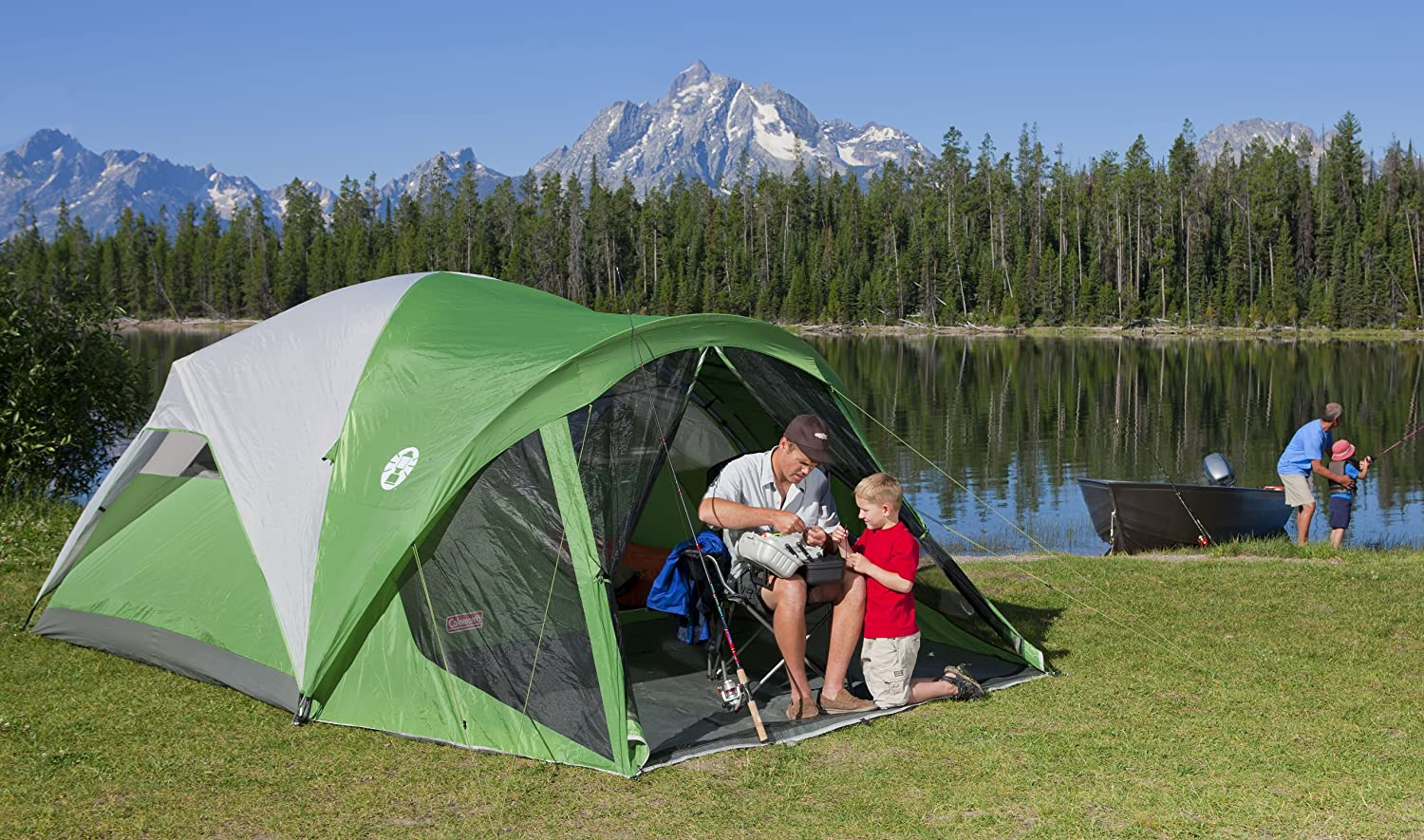 coleman evanston 6 screened tent & BEST 6 PERSON TENT | Camping 6 MAN TENT reviews u0026 SALE