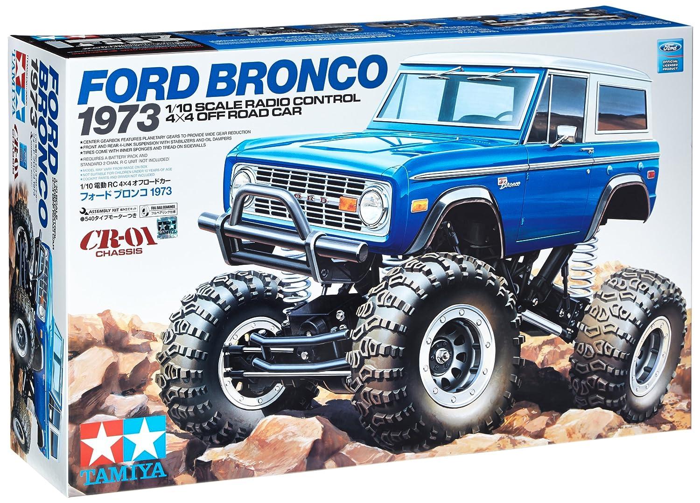 Радиоуправляемый грузовой автомобиль Ford Bronco 1973 Kit: CR01