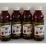 Nature's Pearl 100% Muscadine Juice 4 Pack (Tamaño: 10  Ounces)