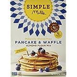 Simple Mills Almond Flour Mix, Pancake & Waffle, Naturally Gluten Free, 10.7 (Tamaño: 10.7 Ounce)