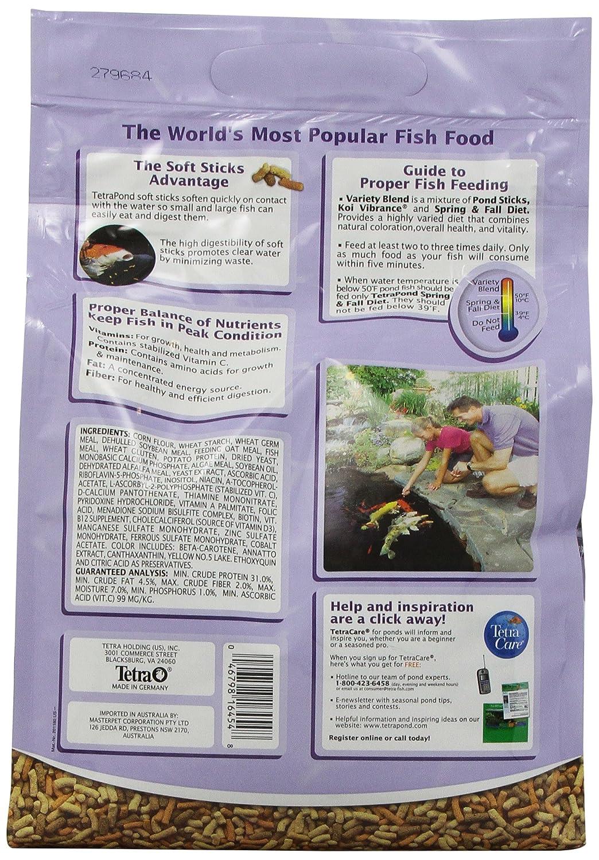 1.32-Pound TetraPond 16456 Pond Variety Fish Food Sticks