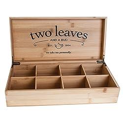 Tea Company Bamboo Presentation Box