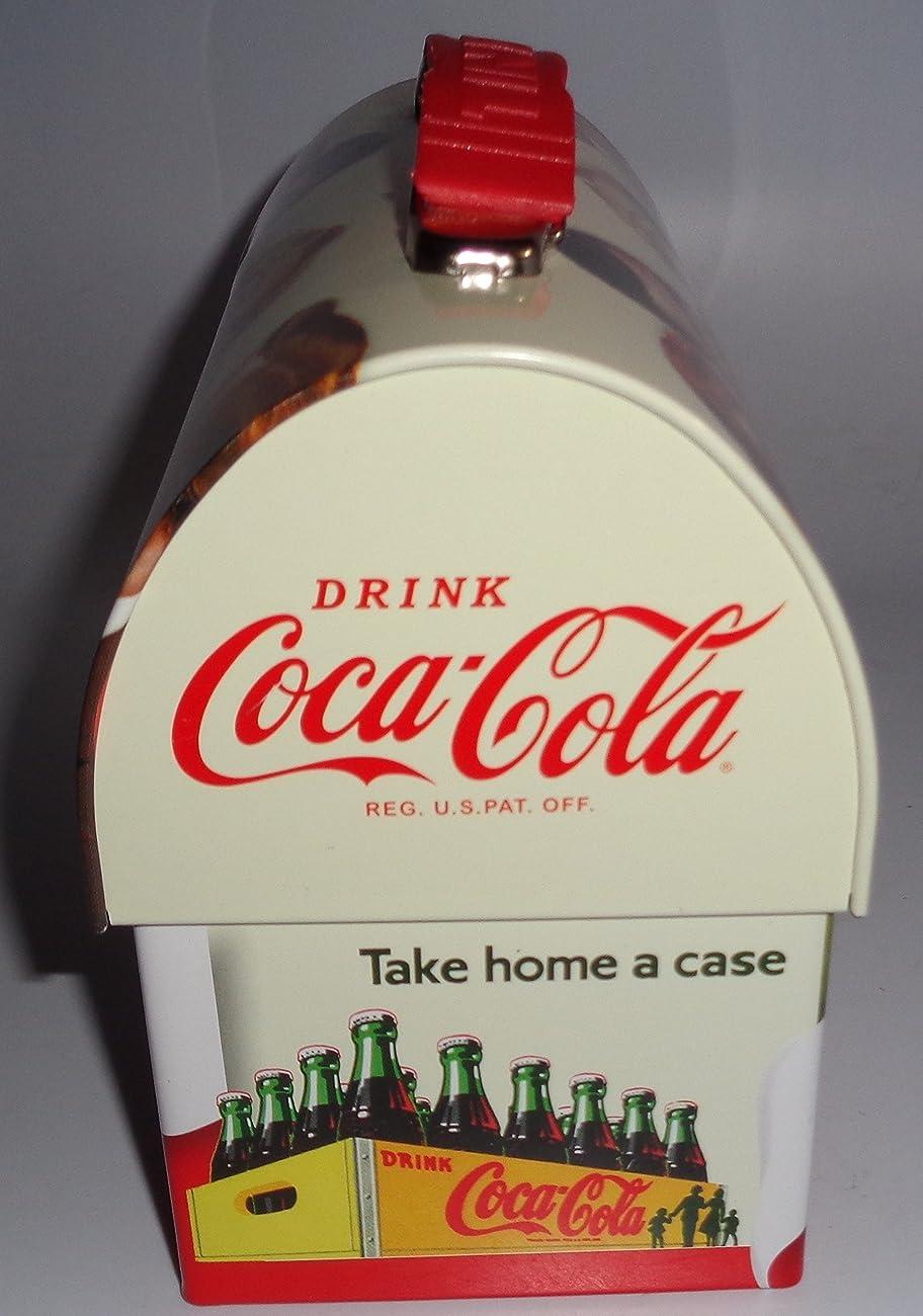 Coca Cola Retro Dome Shapped Tin Lunch Box 2