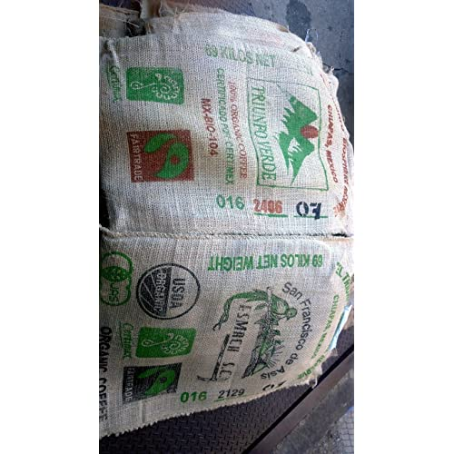 Used Sisal Coffee Bags (10 Pack)