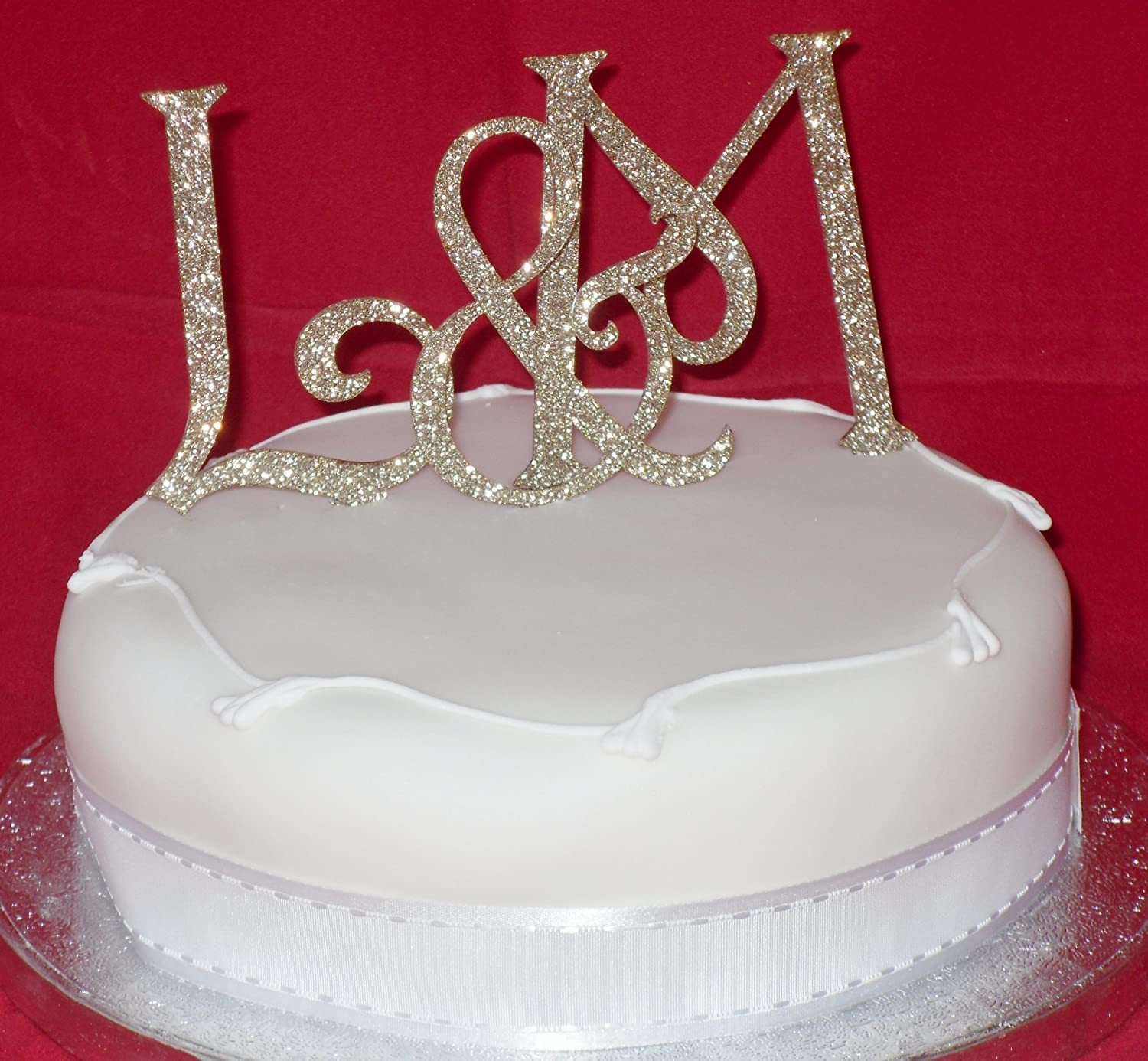 Glitter Letters For Cakes images