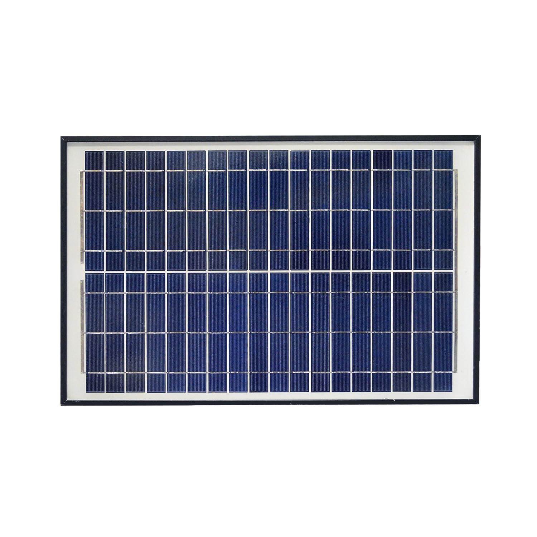 ALEKO® LM109 20W 20-Watt Polycrystalline Solar Panel 12V