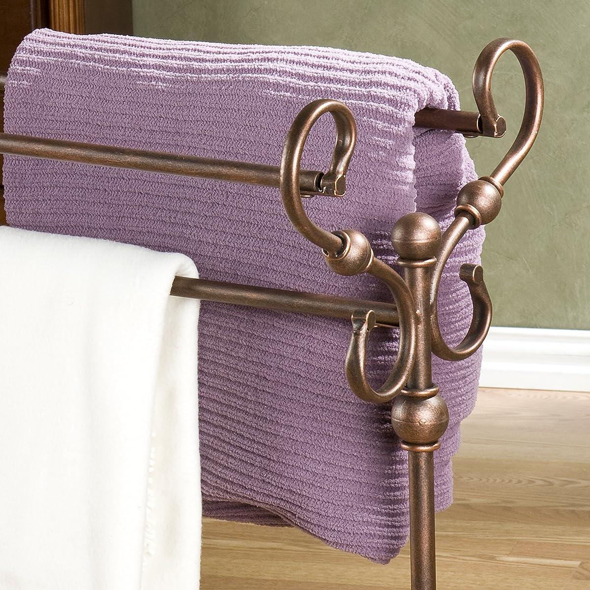 Lourdes Blanket Rack