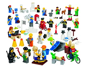 Lego-boite De Figurines De La Communauté
