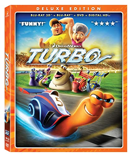 Amazon.com: Turbo (Blu-ray 3D Combo Pack): Ryan Reynolds, Paul ...