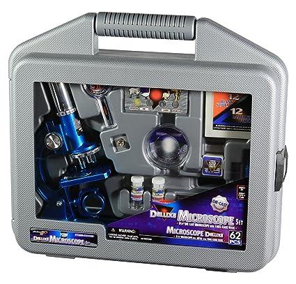 Oxs - jeu Éducatifs - Malette Microscope 60 Pieces