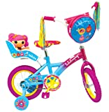 Lalaloopsy Bike with Doll Seat, Front Bag and Training Wheels, 12-Inch/One Size