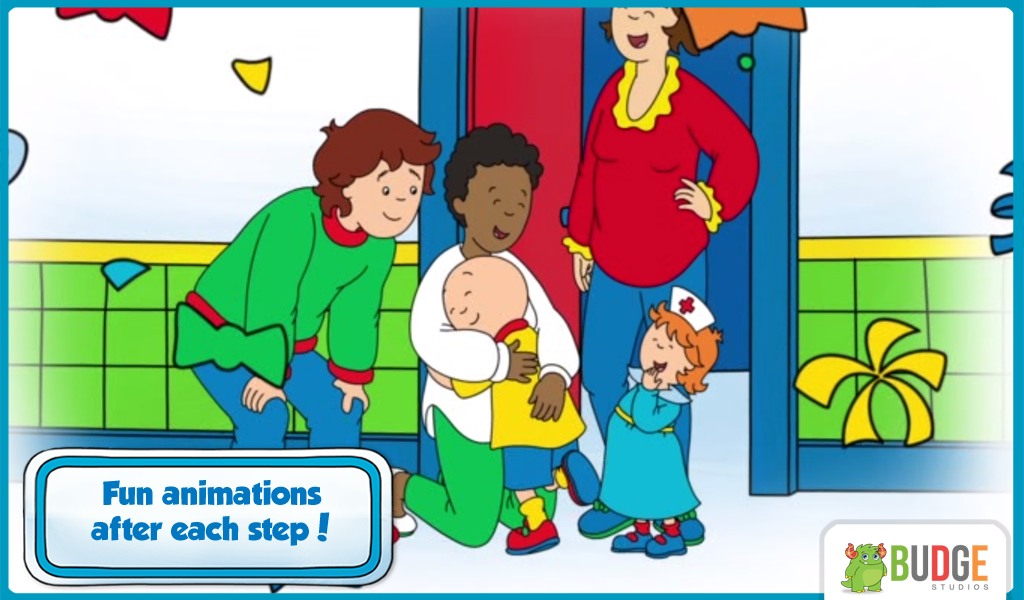 Caillou Check Up - Doctor's Visit Game for Kids