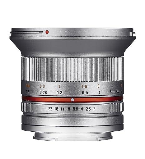 Samyang 12mm F2.0 Sony E (argent)