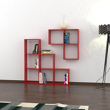 Libreria Portion Rosso - M.KT.02.12250.4