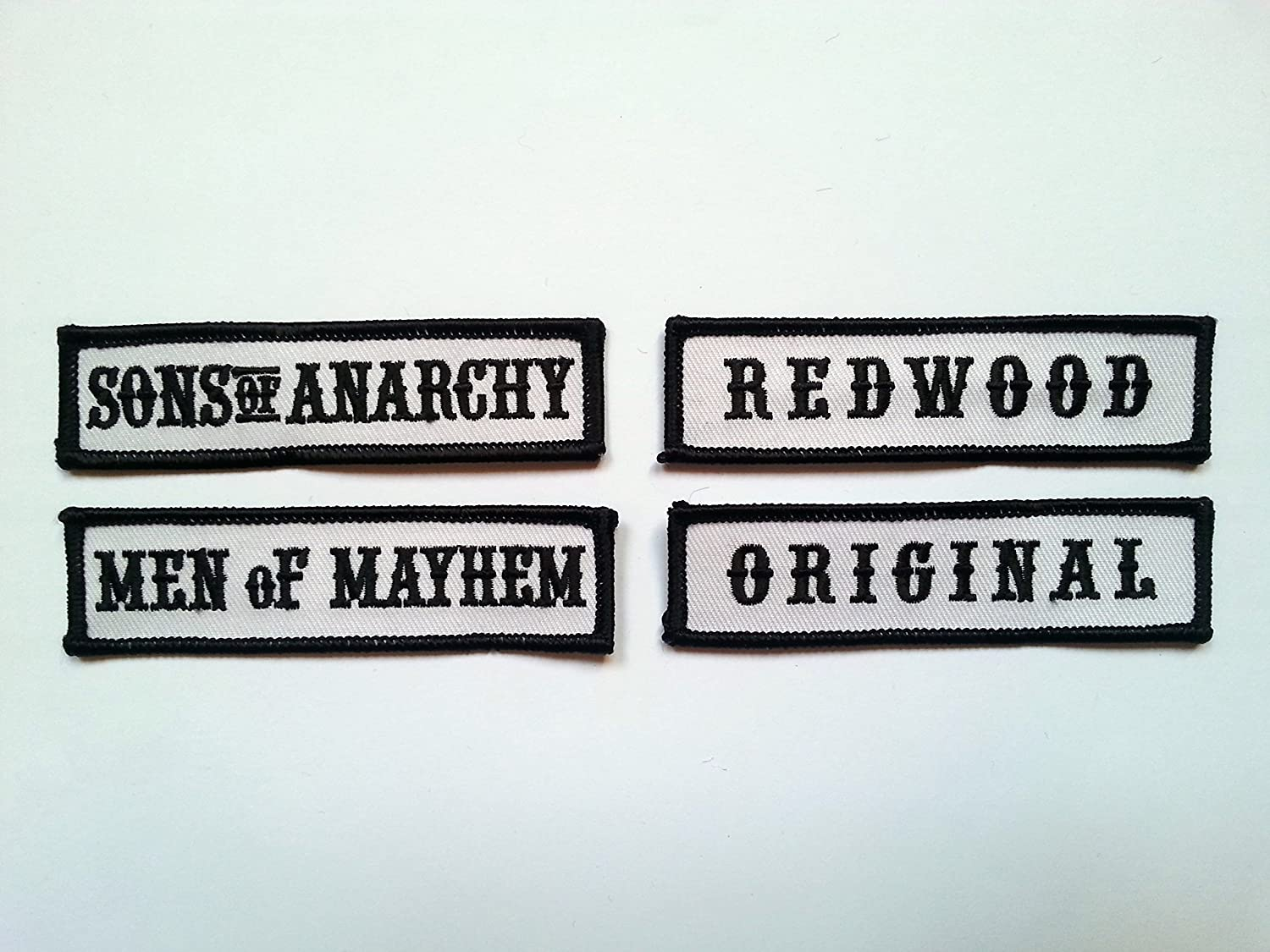 Sons of Anarchy Front Patches Sons of Anarchy Biker Front of