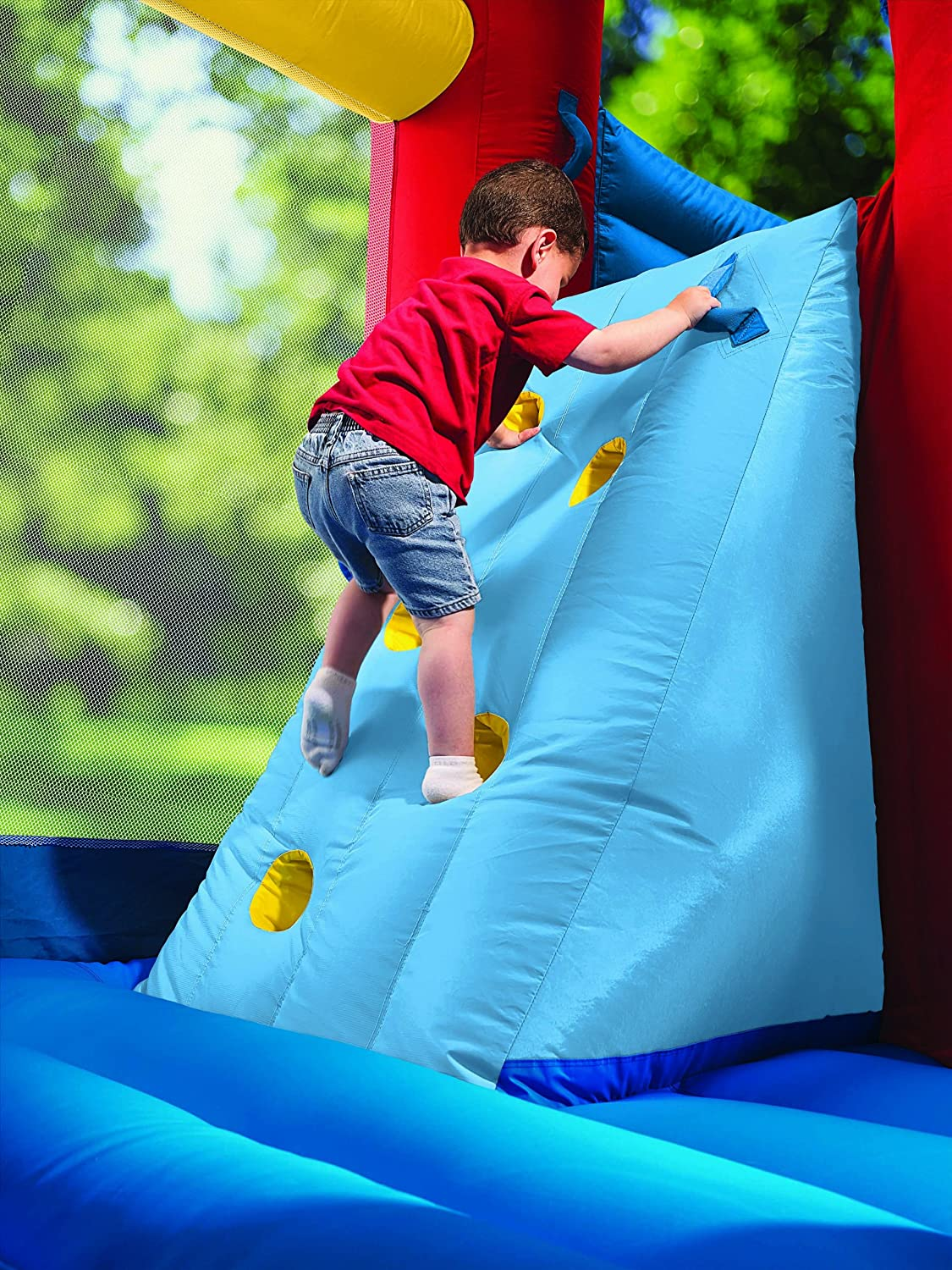 An Image of Little Tikes Super Spiral Bouncer