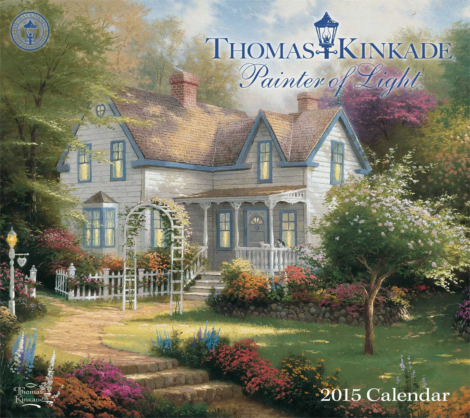 Thomas Kincade Painter of Light 2015 Wall Calendar