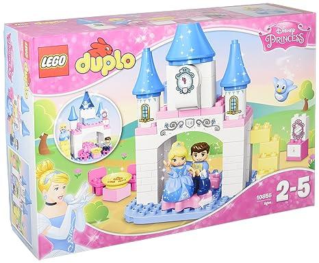 LEGO - 10855 - DUPLO - Jeu de Construction - Le Château Magique de Cendrillon