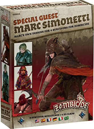 Asmodee - UBIZBP12 - Zombicide - Black Plague - Special Guest Marc Simonetti