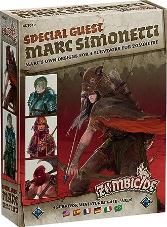 Asmodee - UBIZBP12 - Zombicide - Black Plague - Special Guest Marc Simonetti